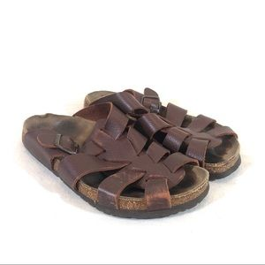 Birkenstock Papillio Leather Huarache Sandals